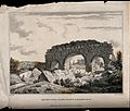 Remains of the ruined Roman public baths at Alexandria, Egyp Wellcome V0012145.jpg