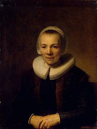 Lambert Doomer - Image: Rembrandt van Rijn Baertje Martens circa 1640