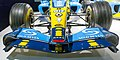 Renault R24 front wing 2017 Museo Fernando Alonso.jpg