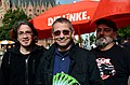 Repräsentanten von Die Linke in Hannover, v.l. Fares Rahabi, Ratsherr Oliver Förste, Stefan Schilling, hier am Klagesmarkt vor der Bundestagswahl 2013.jpg