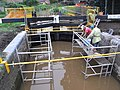 Restoration of navigation lock Droitwich Barge Canal - geograph.org.uk - 953807.jpg