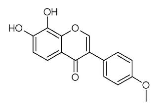 Retusin (isoflavone) - Image: Retusin isoflavone