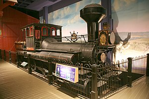 0-10-0 - The locomotive Reuben Wells of 1868