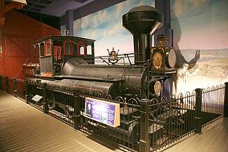 0-10-0 - The locomotive Reuben Wells of 1868