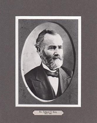 First Universalist Church of Lyons, Ohio - Rev. Crary, second minister of First Universalist Church