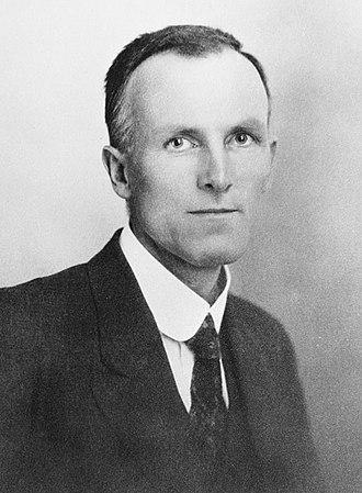 Eden by-election, 1926 - Image: Rex Mason 1919