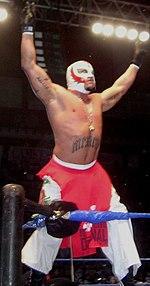 Rey Mysterio en 2005.