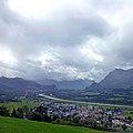 Rhine Valley from Triesenberg, Liechtenstein (33471095508).jpg