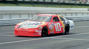 "Tide (brand) - The ""Tide Ride"", driven by Ricky Rudd at Pocono Raceway in 1997"