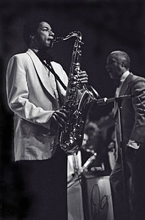 Ricky Ford American jazz tenor saxophonist