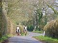 Riders near Redlands - geograph.org.uk - 383201.jpg