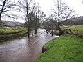 River Esk in spate at Castleton (view down-stream) - geograph.org.uk - 1600004.jpg