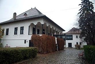 Vălenii de Munte - The Nicolae Iorga memorial museum in Vălenii de Munte