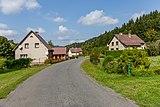 Road III-4875 and houses in Kychová (Huslenky), Vsetín District, Zlín Region, Czech Republic 26.jpg
