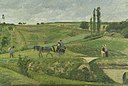 Road from Ennery, Val d'Oise by Camille Pissarro, 1874.jpg