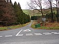 Road junction at Ffridd Newydd - geograph.org.uk - 782174.jpg