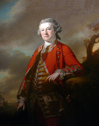 Battle of Rhode Island - General Sir Robert Pigot, portrait by Francis Cotes
