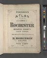 Robinson's atlas of the city of Rochester Monroe County, New York. Compiled from official records private plans and actual surveys under the direction of E. Robinson. Publisher, 82 and 84 NYPL3905012.tiff