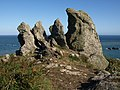 Rocks near Nestley Point - geograph.org.uk - 1490366.jpg