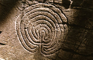 Seven-ring classical labyrinth of unknown age ...