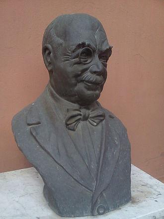 Alexander Roda Roda - Bust in Osijek