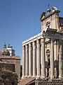 Roman Forum Temple of Antoninus and Faustina 2.jpg