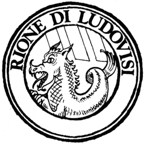 Ludovisi (rione of Rome) - Logo of the rione