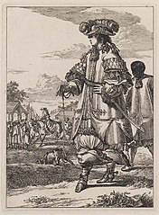 Figures à la mode, Captain with African Servant