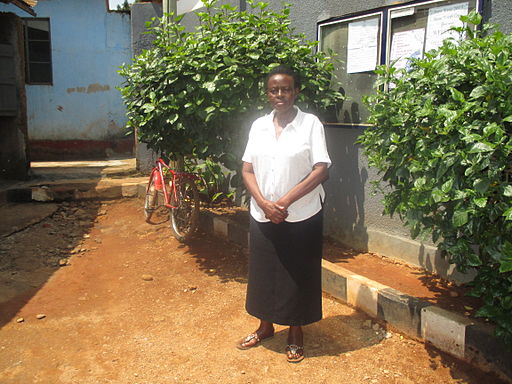 Rose Rwakasisi at St. Luke secondary