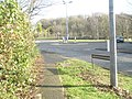 Roundabout at the top of Downwood Way - geograph.org.uk - 1613765.jpg