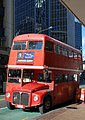 Routemaster bus RM1670 (4HIRE2), The English Rose Tour, Wellington, New Zealand.jpg