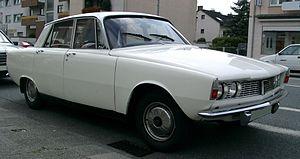Rover P6 - P6 Rover 2000, pre-facelift