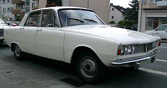 Rover (marque) - 1966 Rover P6