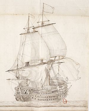 French ship Royal Louis (1668) - Image: Royal Louis Maitre Rodolphe 1667 img 3092
