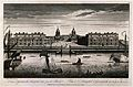 Royal Naval Hospital, Greenwich, with ships and rowing boats Wellcome V0013266.jpg