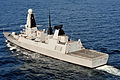 Royal Navy Type 45 Destroyer HMS Dragon MOD 45153101.jpg