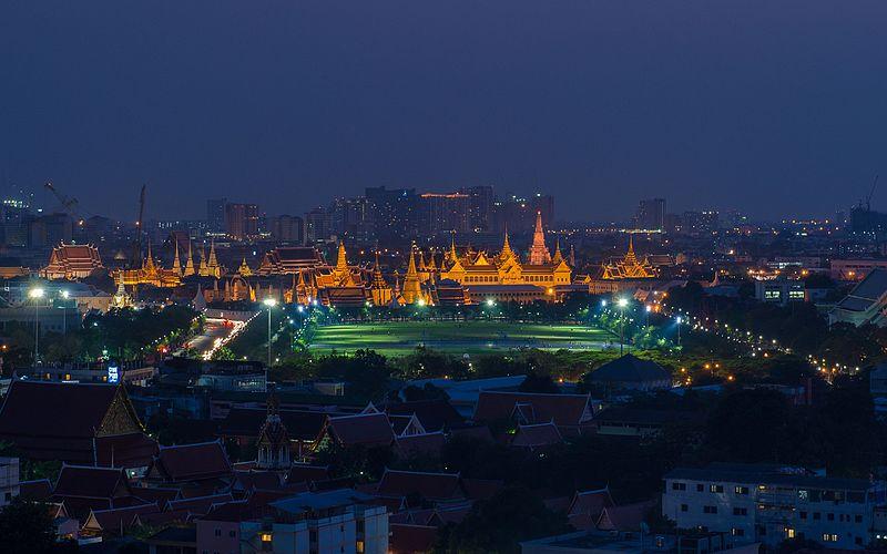 File:Royal Palace and City Skyline Bangkok at Thailand.jpg