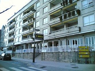 Sanxenxo - Image: Rua de Sanxenxo