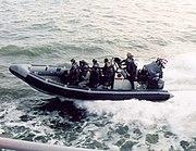 Rubberboot mariniers