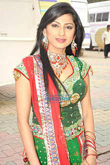 Rucha at STAR Plus Dandia Shoot.jpg