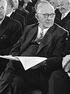 Rudolf Amelunxen - Ausschnitt aus Bundesarchiv B 145 Bild-F001946-0009, Berlin, Bundesversammlung wählt Bundespräsident