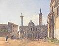 Rudolf von Alt - Die Basilika Santa Maria Maggiore in Rom - 1837.jpeg