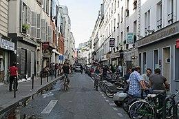 La Rue Des Petites Curies Vue Depuis Du Faubourg Saint Denis