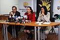 Rueda de prensa conjunta del Canciller Patiño y las Ministras Espinosa y Aguiñaga, sobre los resultados de la COP 16 en Cancún (5257913213).jpg