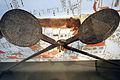 Rundes Waffeleisen von 1618 mit Schloss und Wappen Rapperswil - Stadtmuseum Rapperswil 2013-02-02 16-35-34 (P7700).JPG