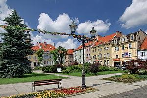 Wodzisław Śląski - Old Town Square