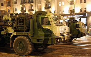 S-400 Triumf SAM - rehearsal for 2009 VD parade in Moscow -01.jpg
