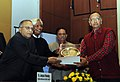 S. Jaipal Reddy presented the Dr. Jagdish Chandra Bose Hindi Granth Lekhan Puraskar, Innovative Young Biotechnologist Award (IYBA) and National Bioscience Award for Career Development (1).jpg