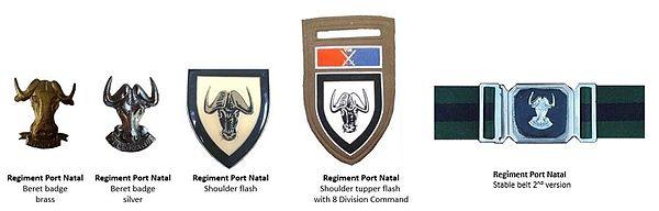 SADF Regiment Port Natal insignia ver 2
