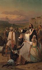 Anno 1660. Hambroeks zelfopoffering te Formosa
